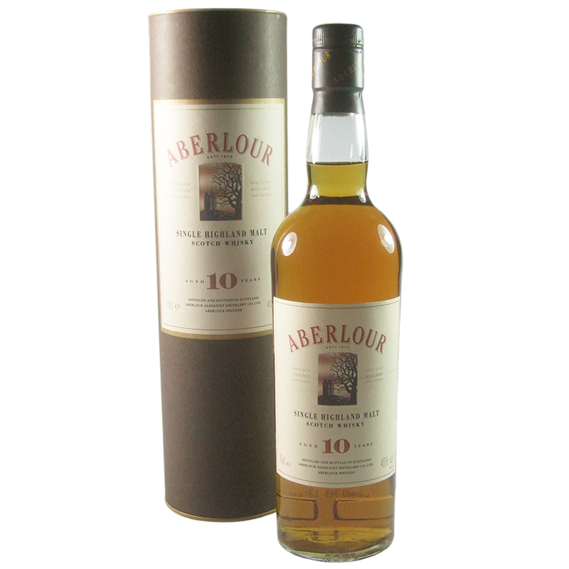 Aberlour 10 Year Old, Nineties Bottling with Tube