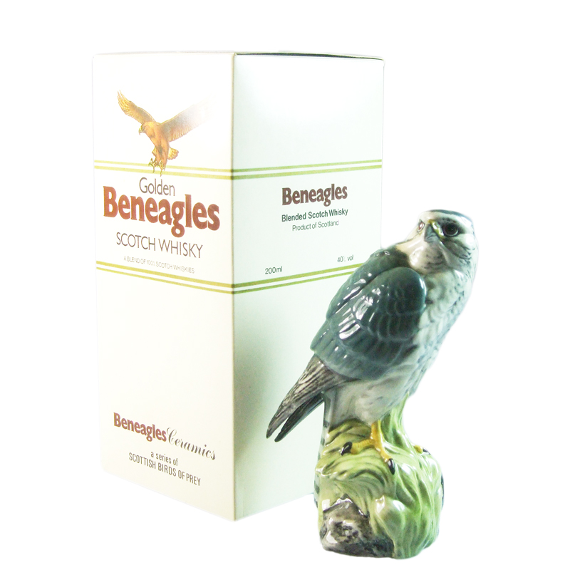 Beneagles Blended Scotch Whisky, Birds of Prey Ceramics - Kestrel