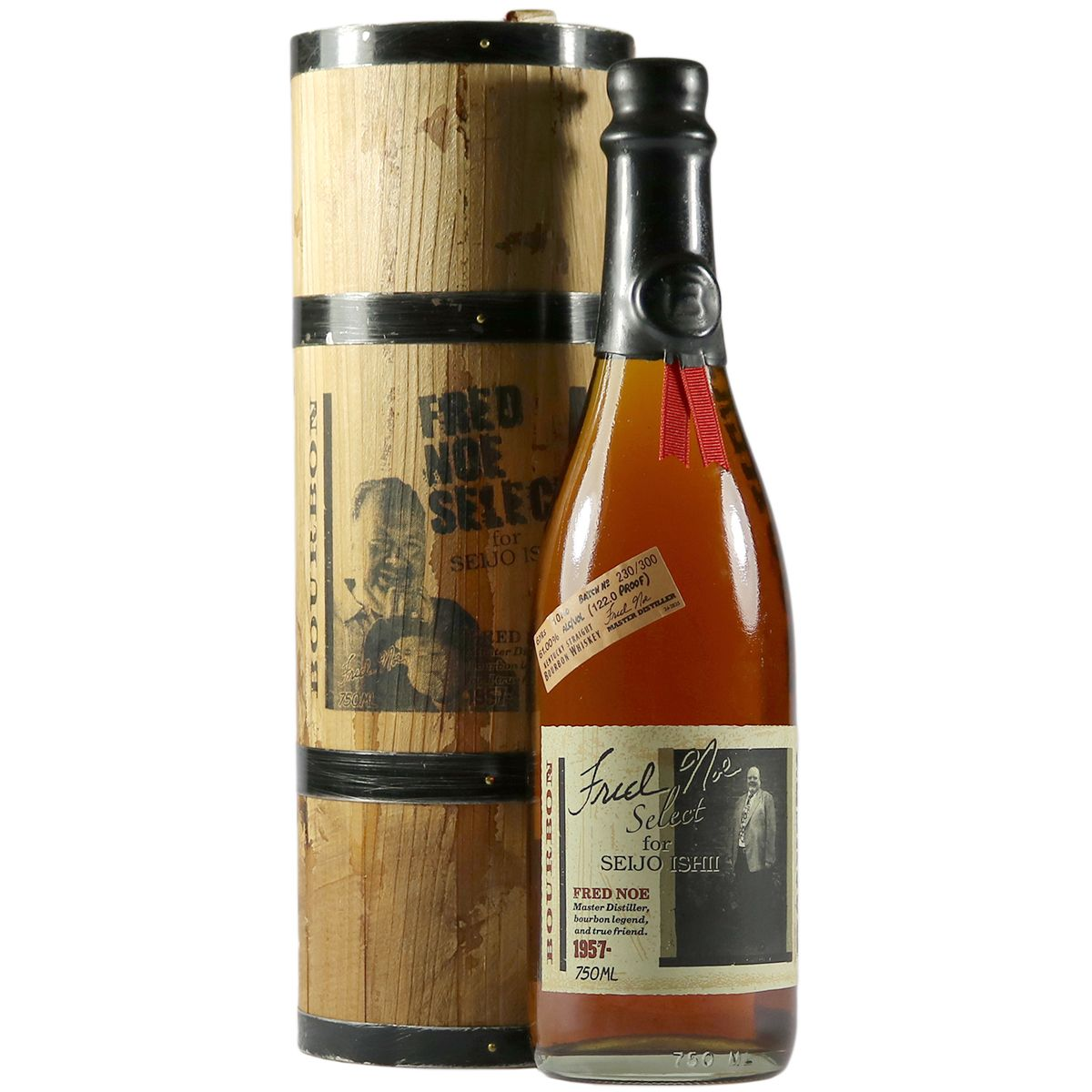 Booker's 6 Year Old Bourbon Whiskey, Seijo Ishii | The Whisky Vault