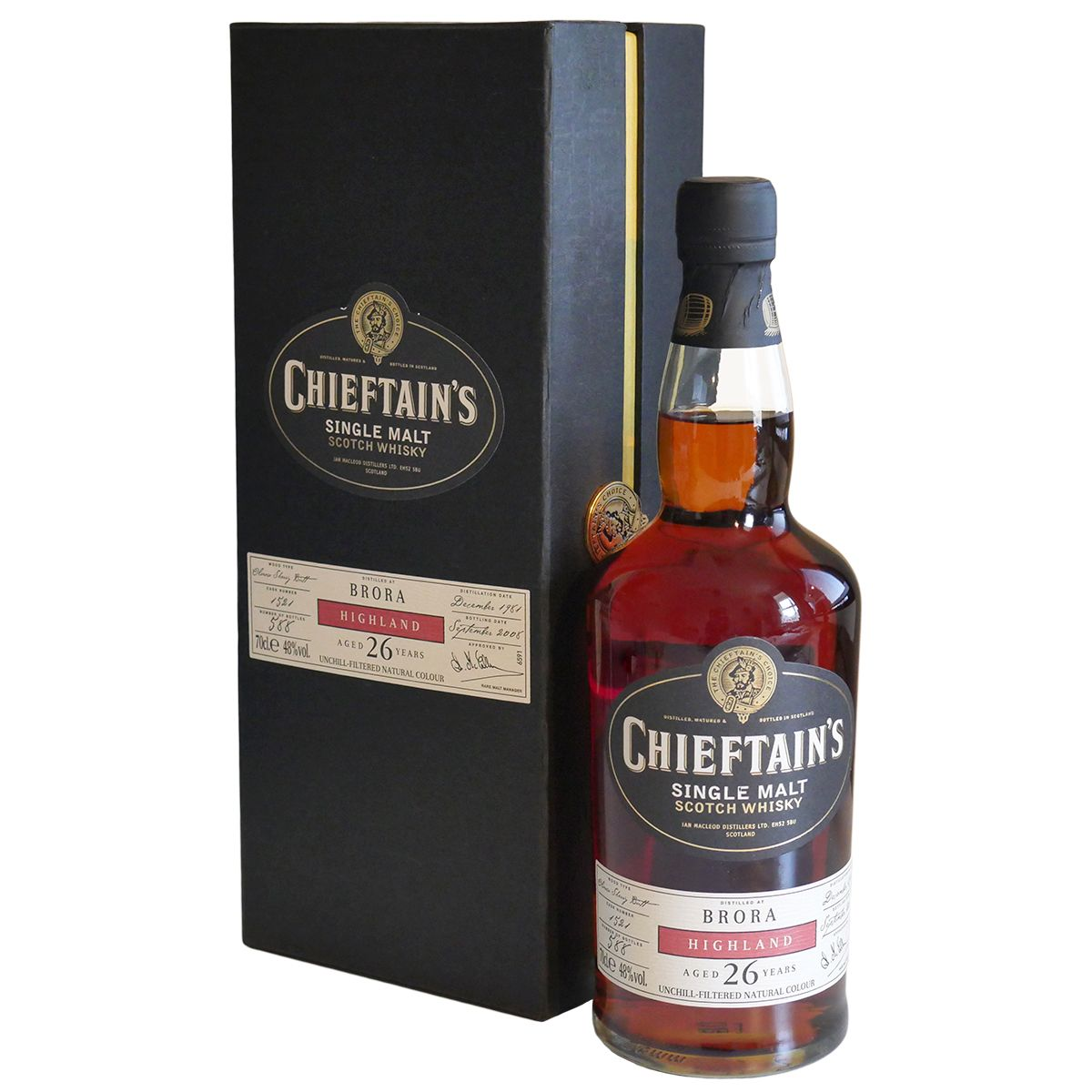 Brora 1981 26 Year Old, Chieftain's 2008 Bottling | The Whisky Vault