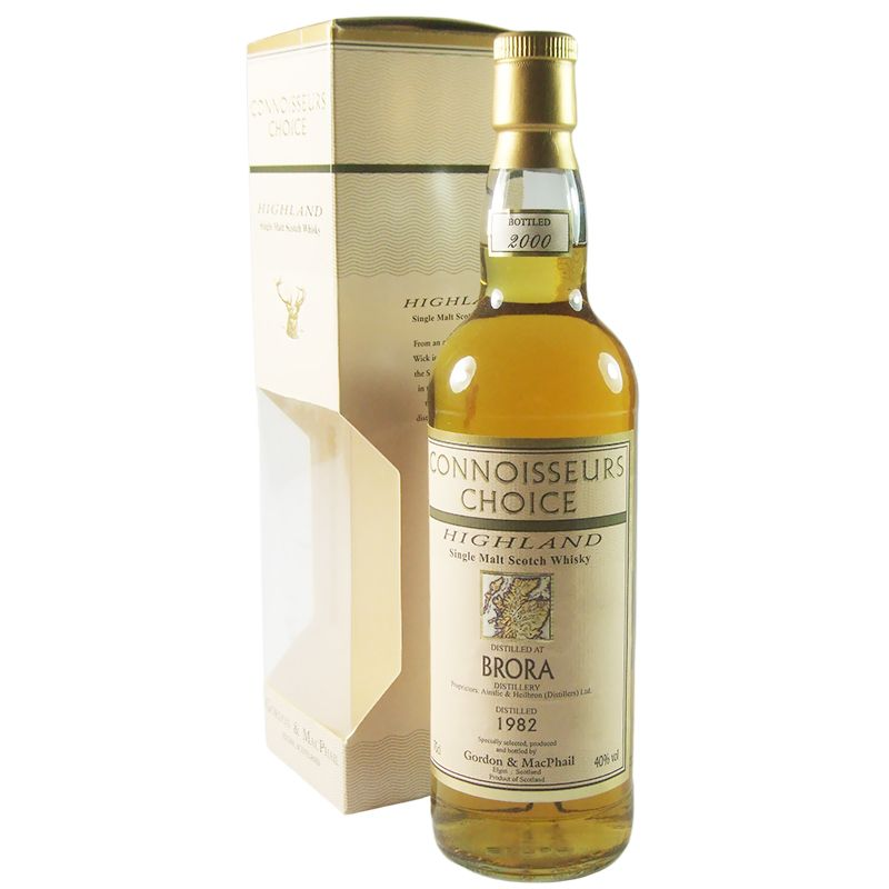 Brora 1982, Gordon & MacPhail Connoisseurs Choice with Box