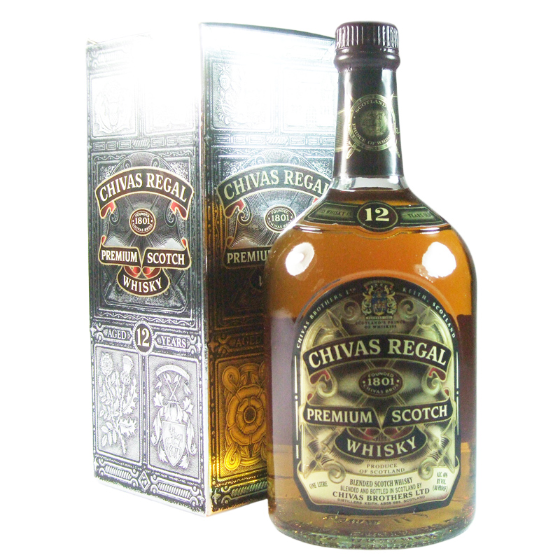 Chivas regal 12 year old blended whisky litre the whisky vault - Chivas regal 18 1 liter price ...