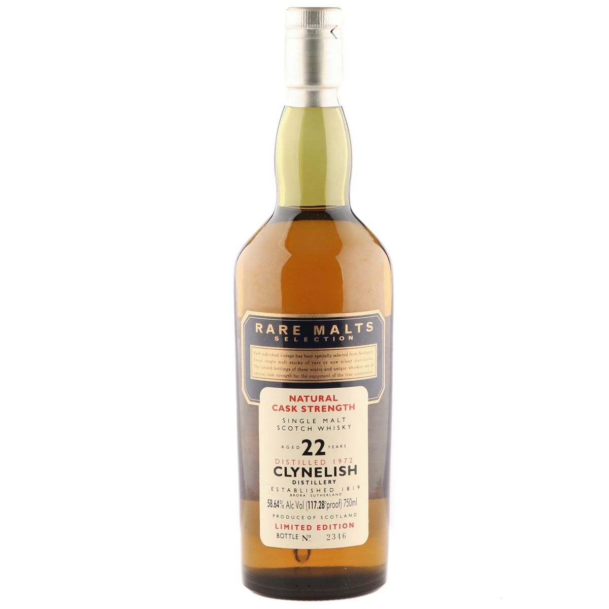 Clynelish 1972 22 Year Old, Rare Malts Selection US | The Whisky Vault