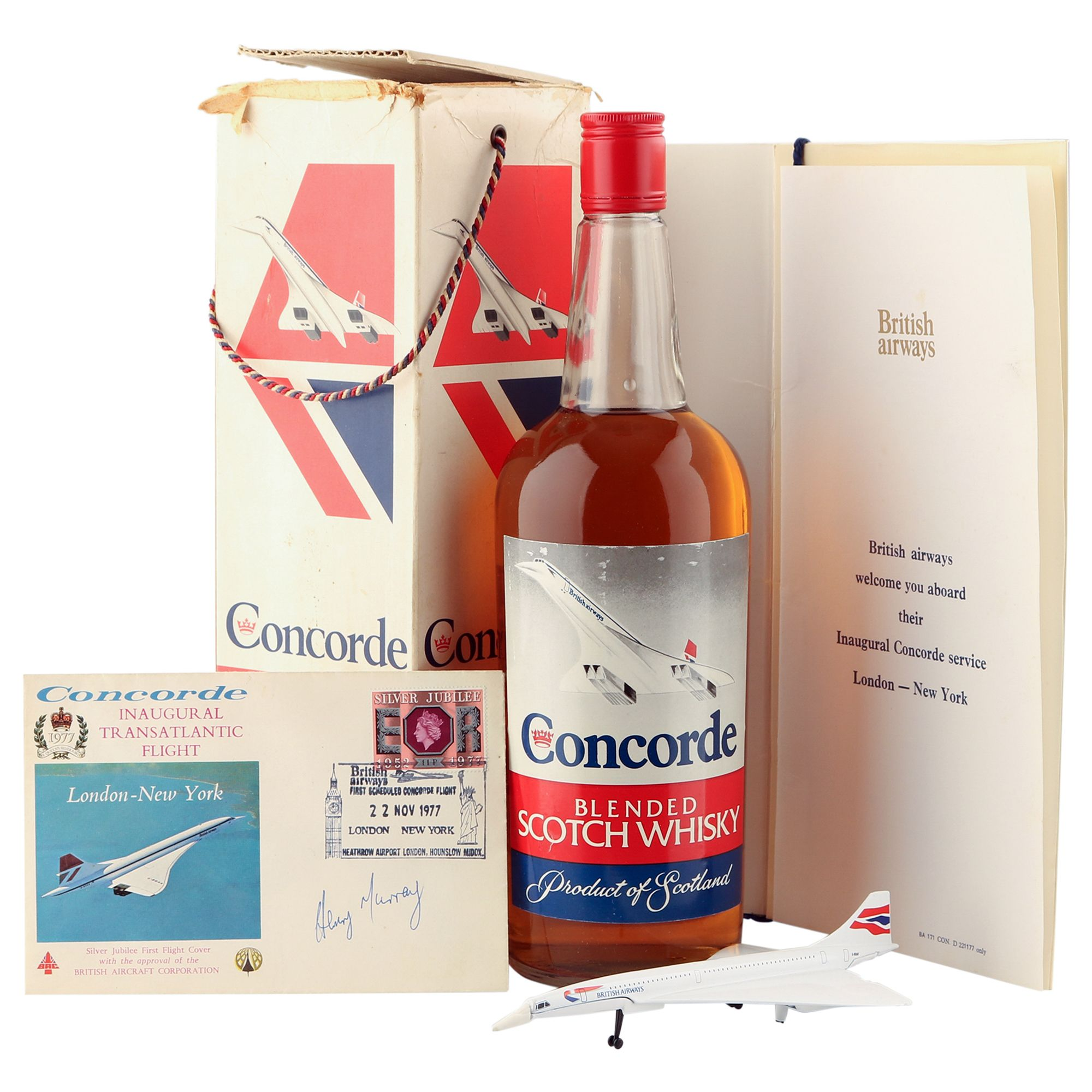 Concorde Blended Whisky, Inaugural Transatlantic Flight Bottling