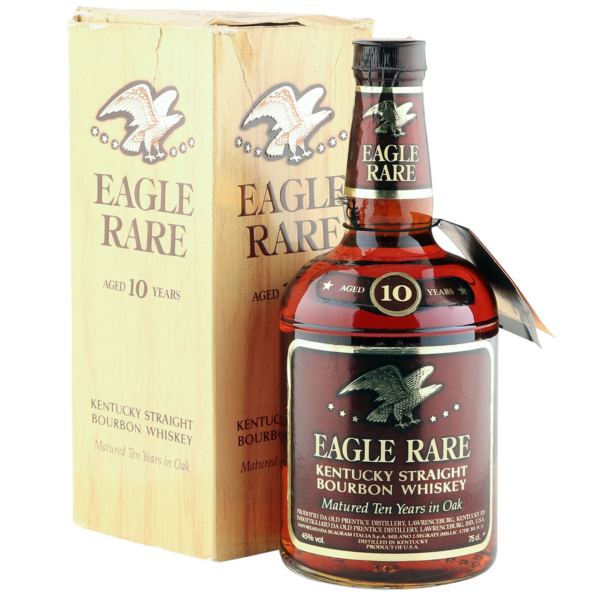 Eagle Rare 10 Year Old Bourbon Whiskey, Eighties | The Whisky Vault