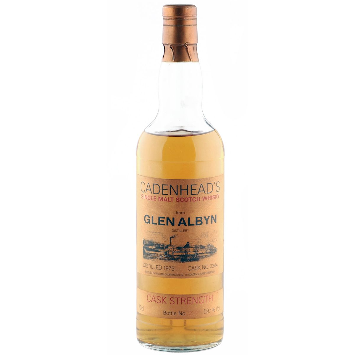 Glen Albyn 1975, Cadenhead's Cask Strength | The Whisky Vault
