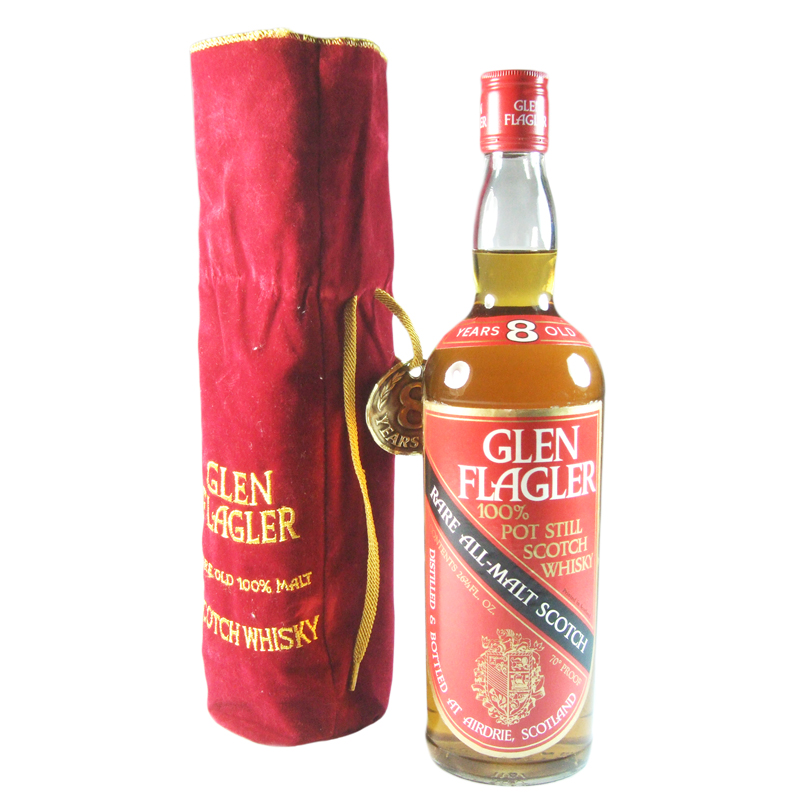 Glen Flagler 8 Year Old, Seventies Bottling