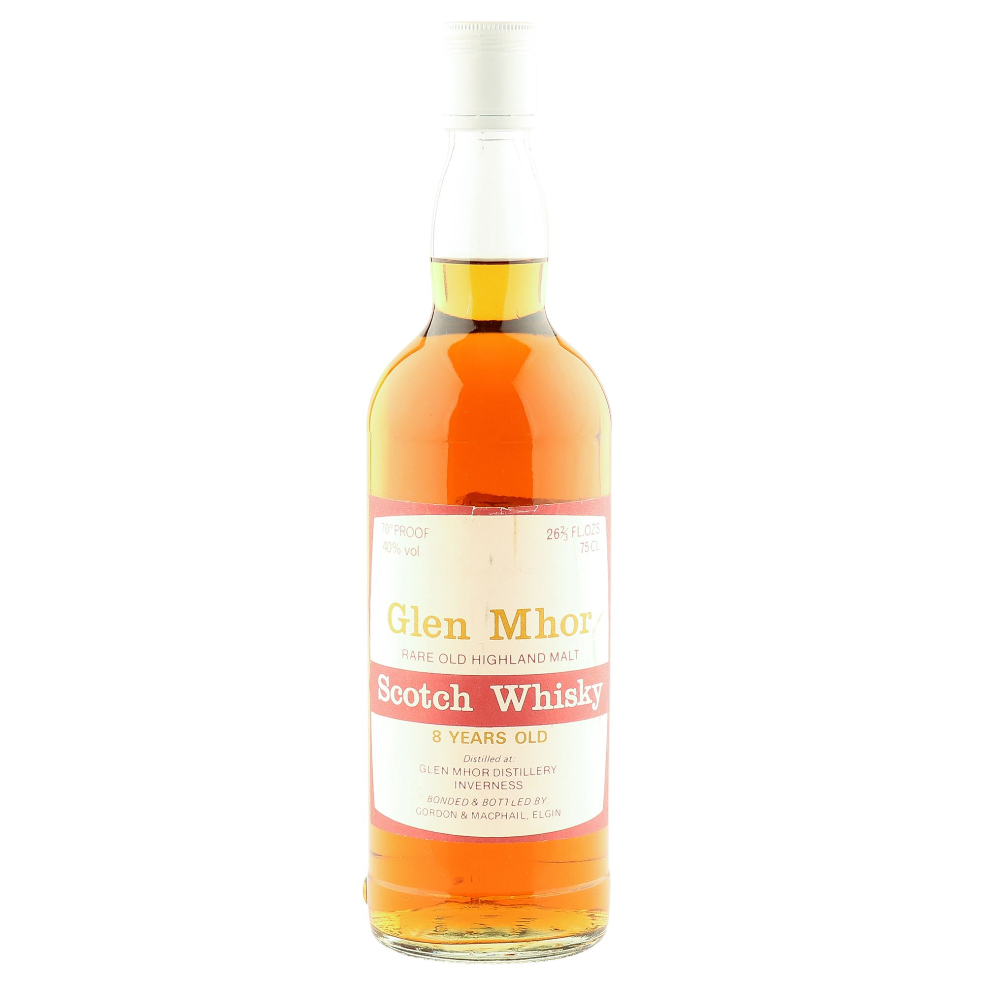 Glen Mhor 8 Year Old, Seventies Gordon & MacPhail Bottling