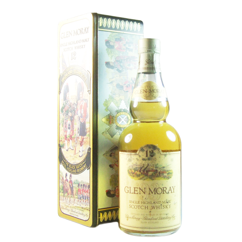 Glen Moray 1993 12 Year Old, Highland Regiments Bottling with Tin