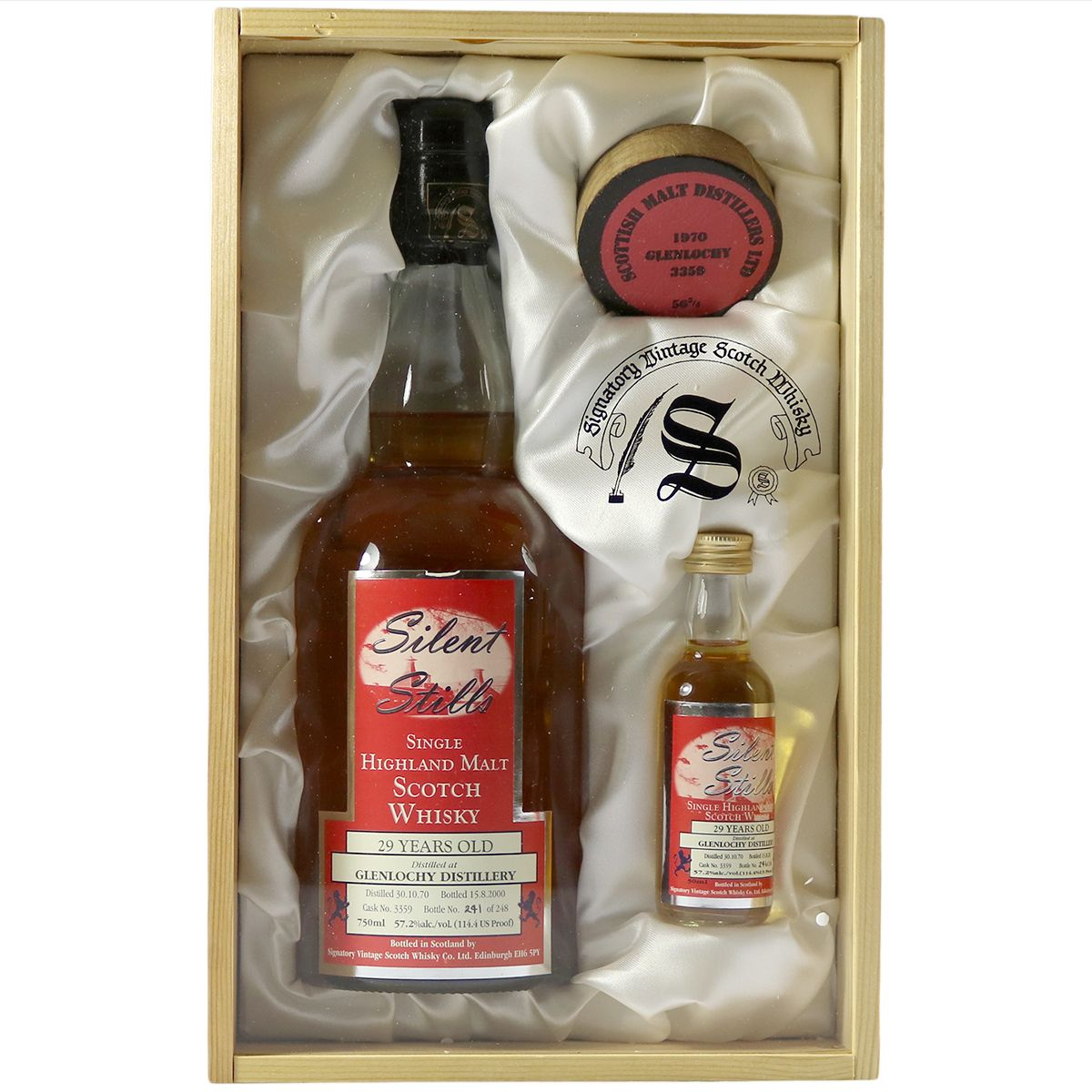 Glenlochy 1970 29 Year Old, Signatory Silent Stills | The Whisky Vault