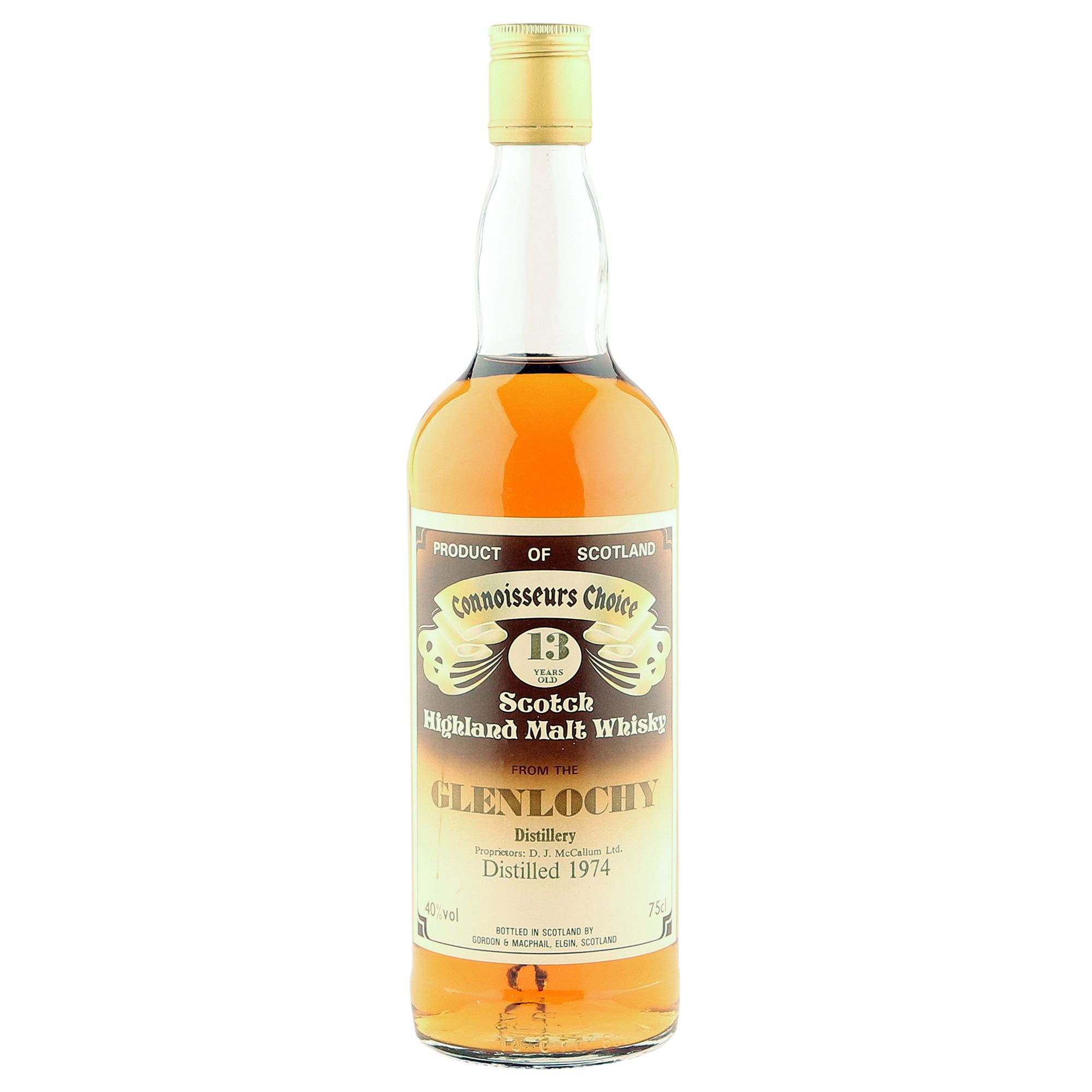 Glenlochy 1974 13 Year Old, Gordon & MacPhail Connoisseurs Choice