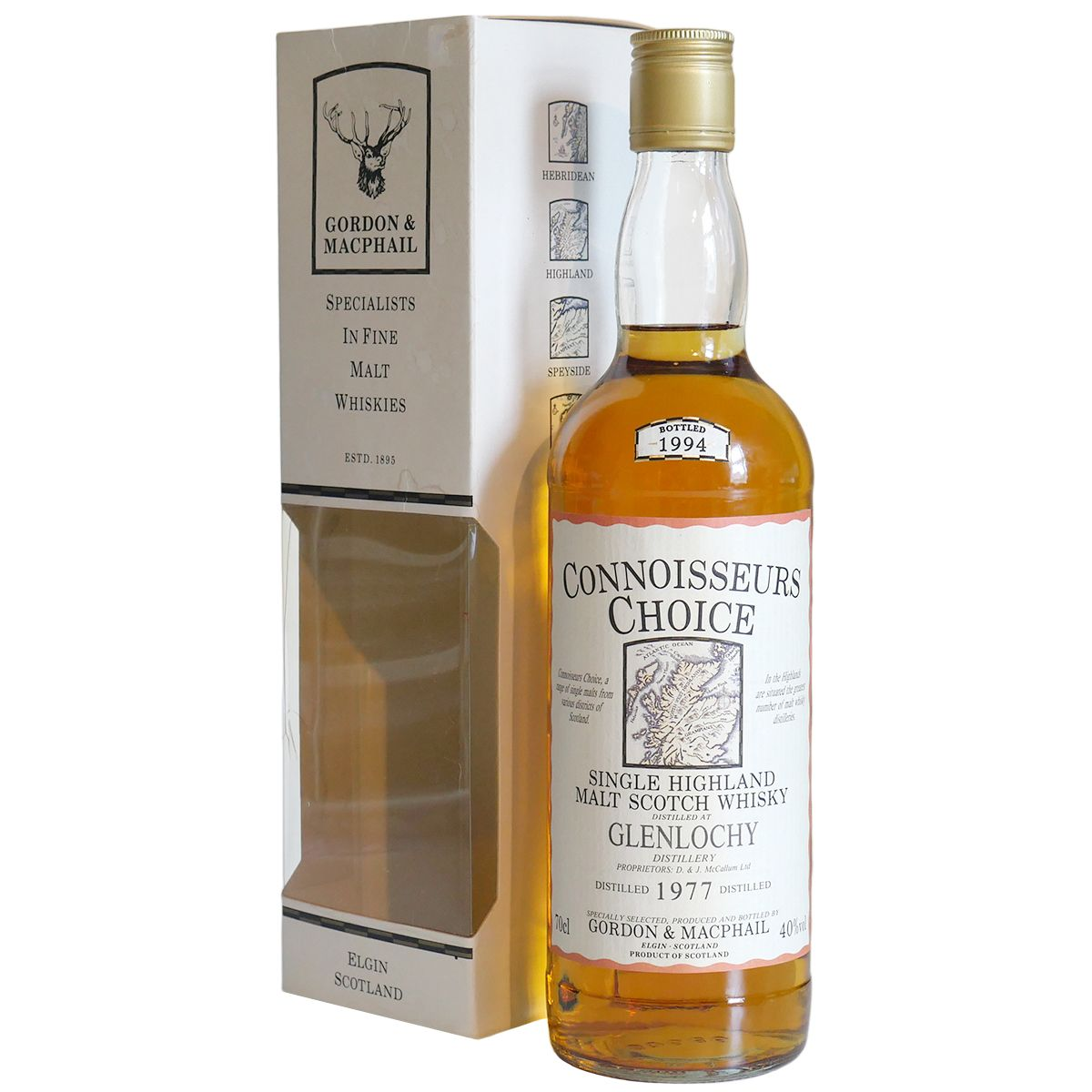 Glenlochy 1977, Gordon & MacPhail Connoisseurs Choice | The Whisky Vault