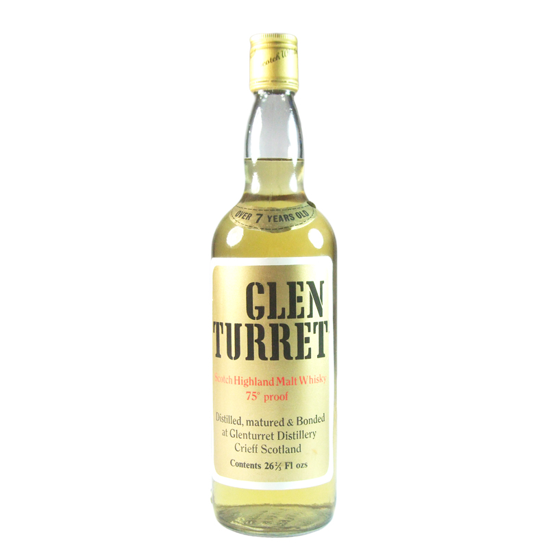 Glenturret 7 Year Old, Seventies Bottling with Box
