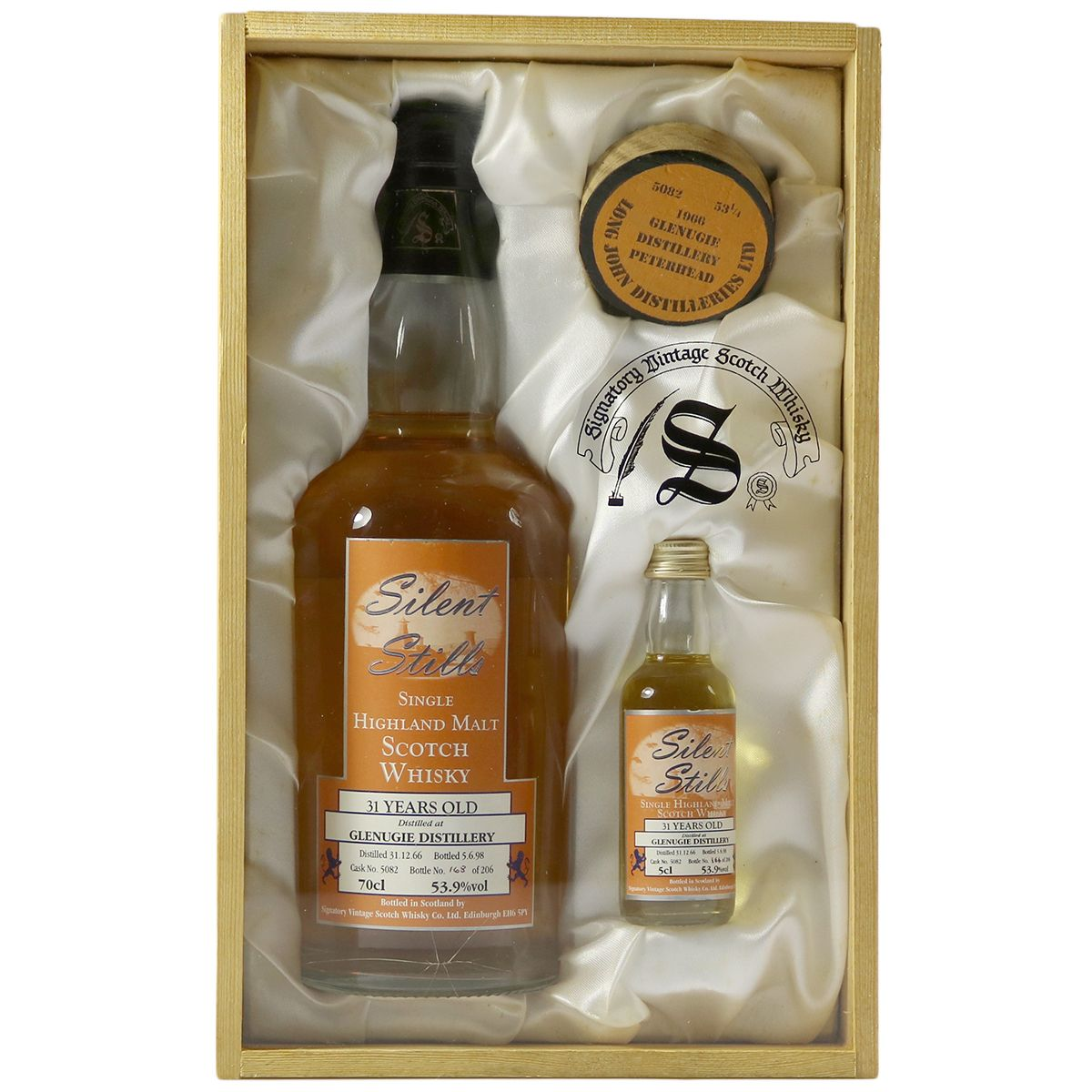 Glenugie 1966 31 Year Old, Signatory Silent Stills | The Whisky Vault