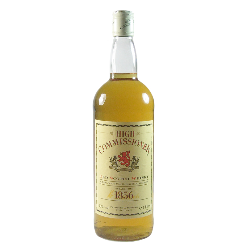 High Commissioner Blended Scotch Whisky, Litre Bottling