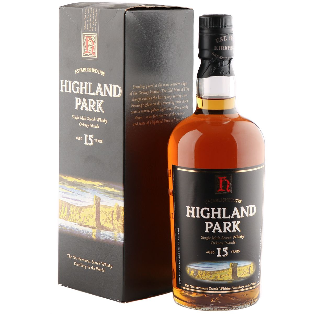 Highland Park 15 Year Old, Nineties Bottling | The Whisky Vault