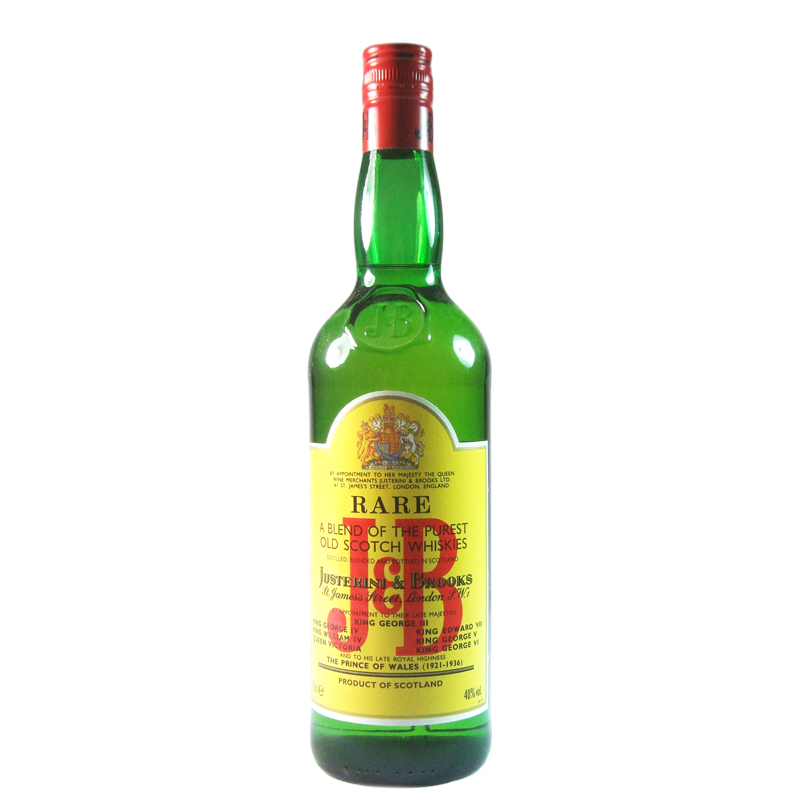 J & B Blended Whisky, Nineties Bottling