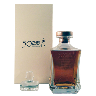 Johnnie Walker 1820 Blend, Glass Decanter with Presentation Box