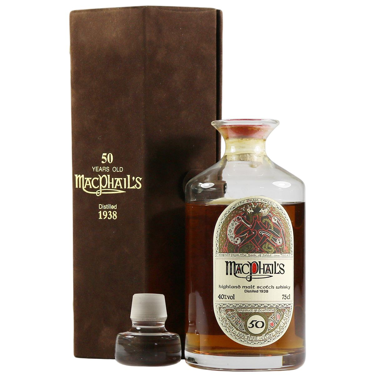 MacPhail's 1938 50 Year Old, Gordon & MacPhail | The Whisky Vault