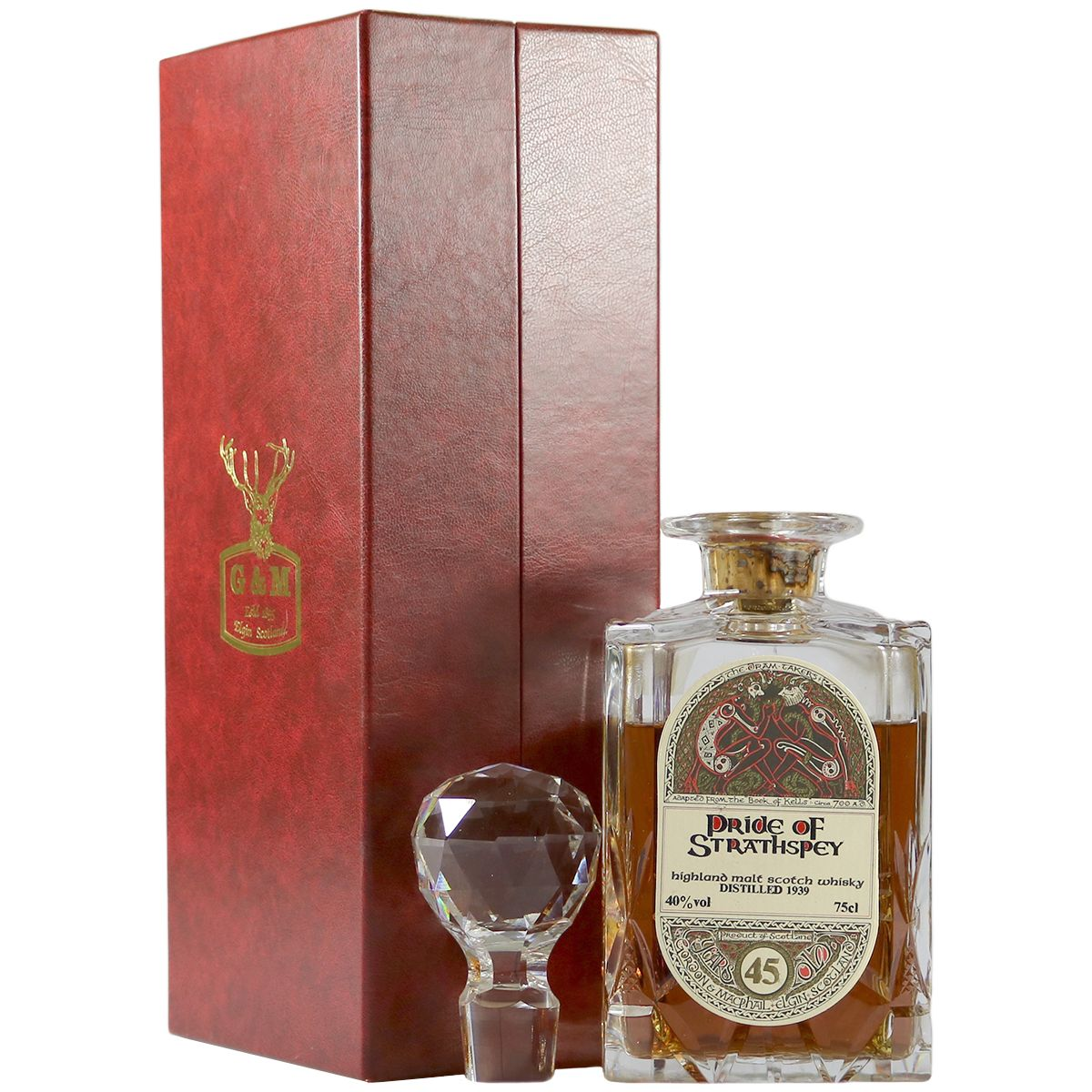 Pride of Strathspey 1939 45 Year Old Decanter | The Whisky Vault