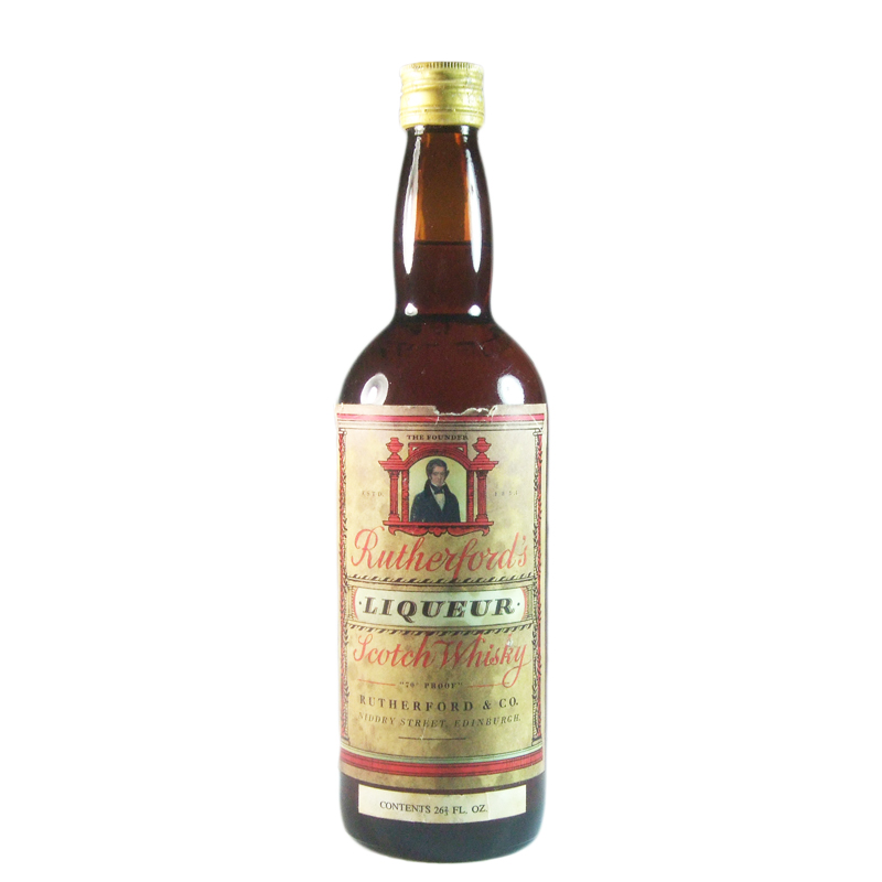 Rutherford's Liqueur Scotch Whisky