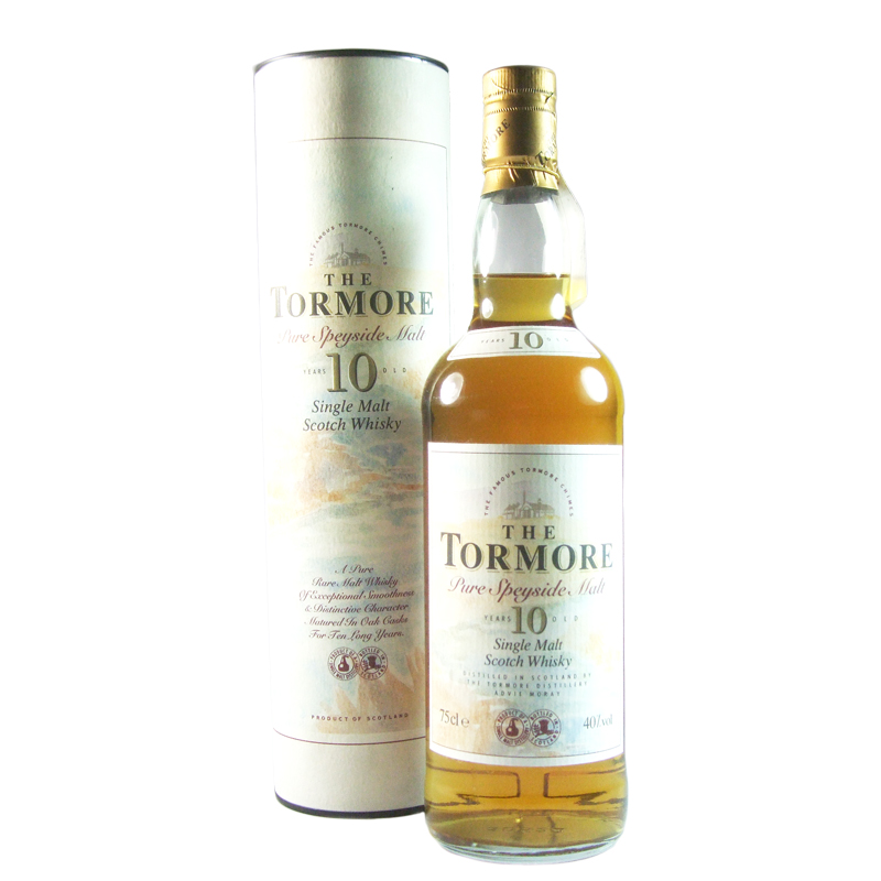 Tormore 10 Year Old, 75CL Bottling with Tube