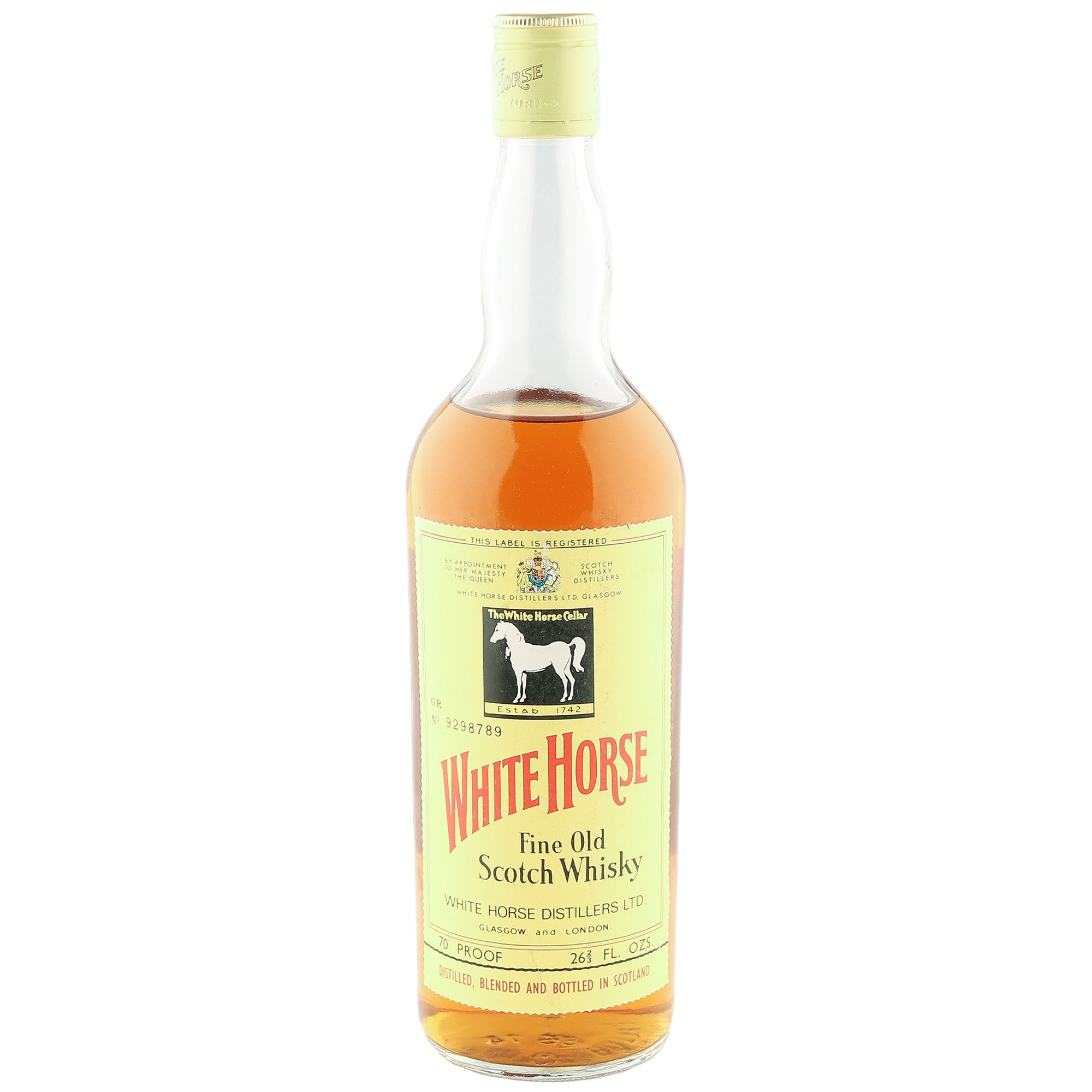 White Horse Blended Scotch Whisky Seventies The Whisky Vault