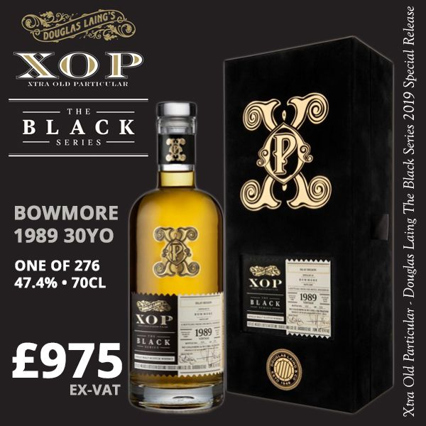 Bowmore 1989 30yo XOP Black Series
