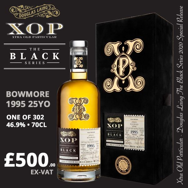 Bowmore 1995 25yo XOP Black Series