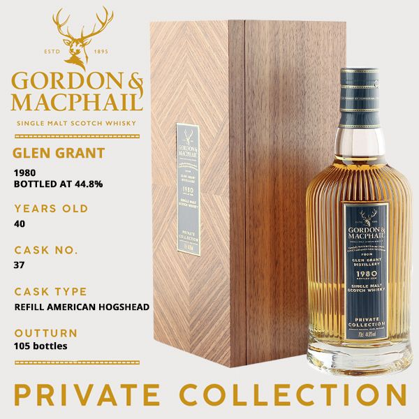 Glen Grant 1980 40yo Private Collection