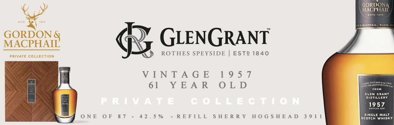 Glen Grant 1957 61yo Private Collection