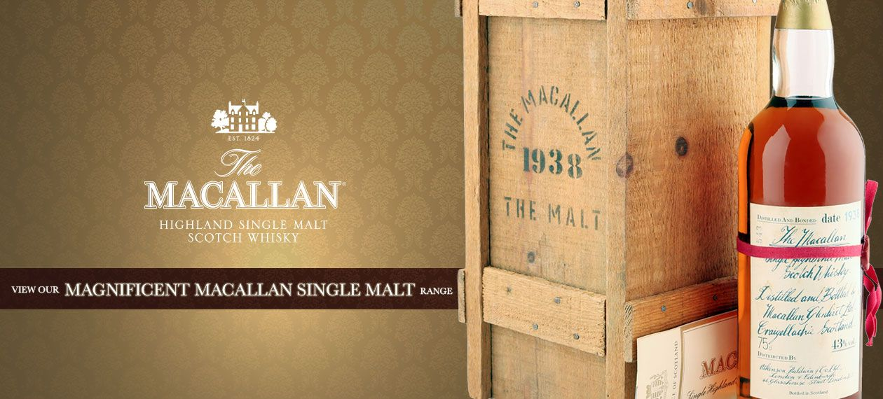 Macallan Single Malt Scotch Whisky