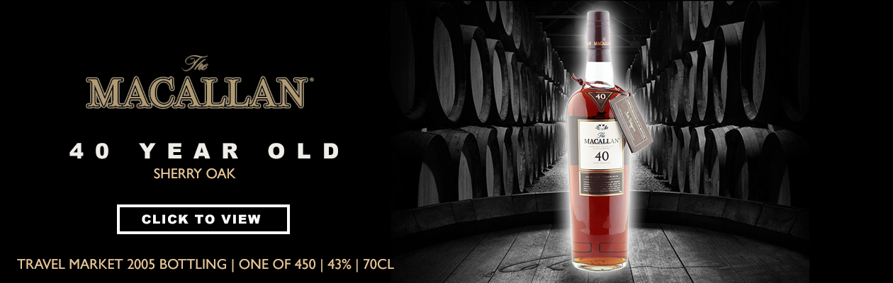 Macallan 40yo Duty Free